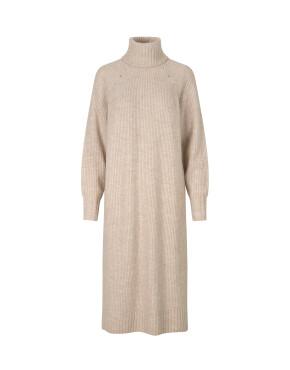 Jurk MbyM 46327575 - Frey, Shyla, Knit - Oyster Melange - 119,95€