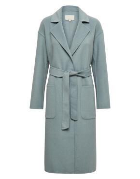Mantel Minus MI4193 - Chantal Coat - Misty Blue - 219,95€